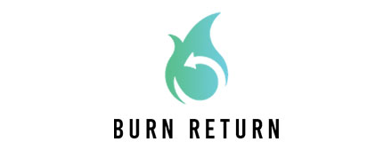 Burn Return Logo Custom Mobile App